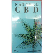 Natural CBD - Hemp Cigarettes - 2 packs